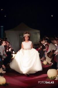 vestido largo comunión 2015