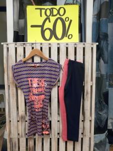Vestido antes 56€, ahora 23€, puedes combinar con mallas de muchos colores a 8€ !!!