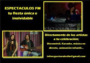 Espectáculos FM, Feria de la comunión Barbastro