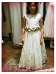 vestido comunión 2014