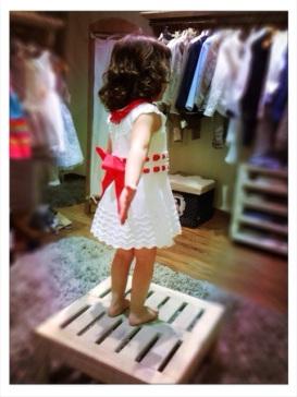 Carmen Taberner vestido niña