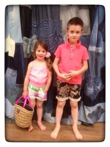 moda niños primavera/verano 2014