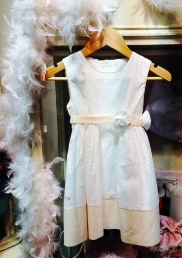 Vestido blanco de IDO 70% de descuento