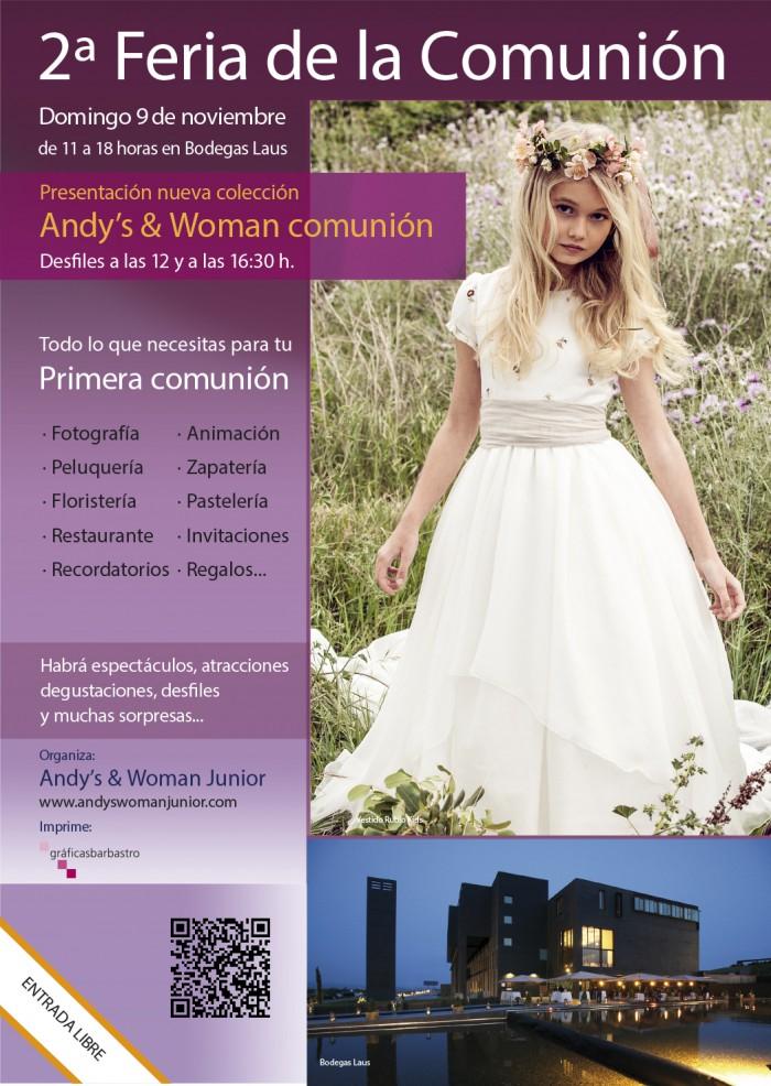 vestidos de comunión hortensia maeso 2015 – Andys & Woman Junior