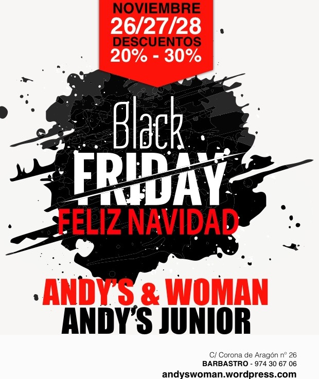 ¡¡Black Friday!!