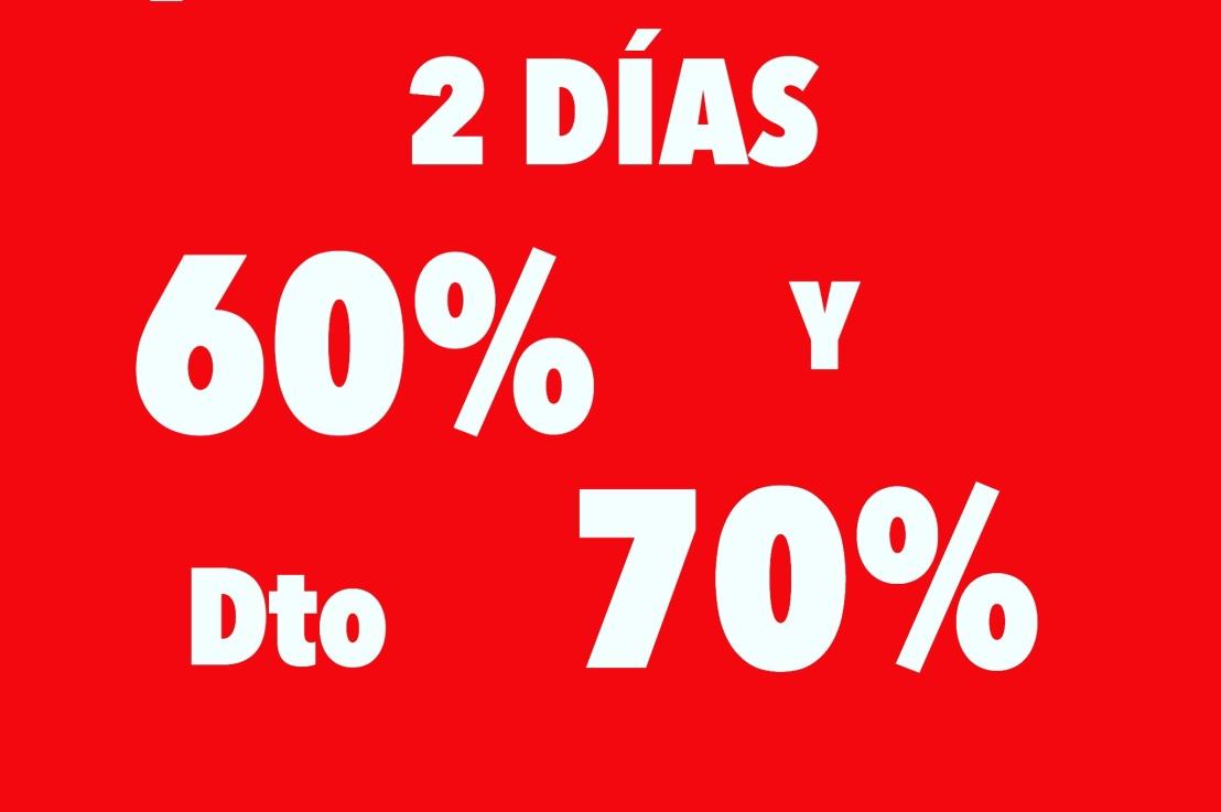 ¡FIN DE STOCK! ¡2DÍAS!